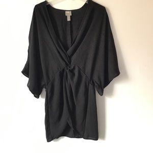 ASOS Kimono Blouse Black
